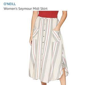 O'Neill midi skirt